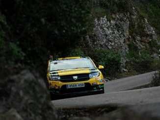 Quijada y Cuni Fernández defienden liderato de la Dacia Sandero en Navarra