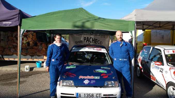 Mordillo y Hernández terceros de la Copa FEXA-RallyAl en Zurbarán