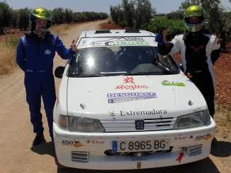 Victoria aplastante de Paco Montes y David Collado en Almendralejo