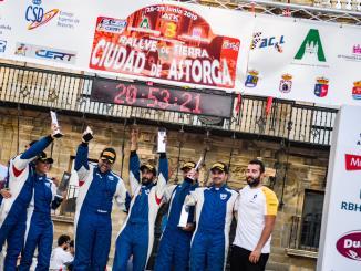 El Q Racing Extremadura encarrila la Copa Dacia Sandero en Astorga