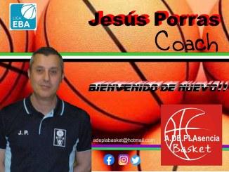 Jesús Porras regresa al Adepla Basket