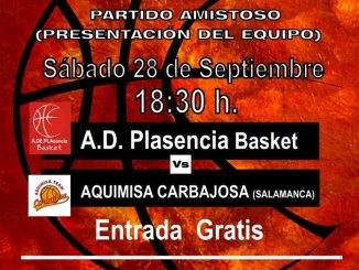 Plasencia Basket se presenta a su afición