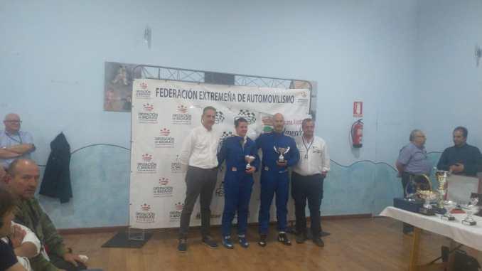 Mordillo y Hernández segundos en la Copa FEXA/RallyAl en el Rallye de la Vendimia