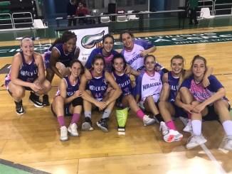 Miralvalle gana Copa de Extremadura Baloncesto Femenino