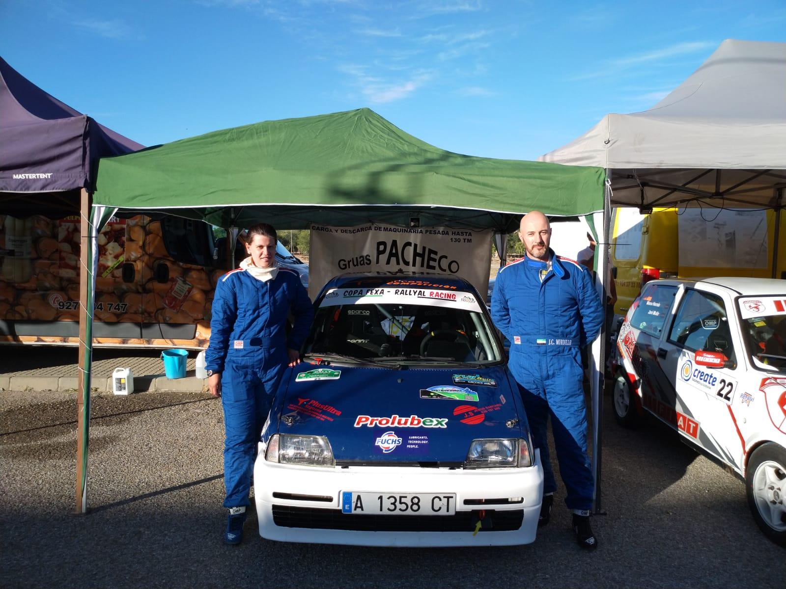RallySprint de Salvaleón - Mordillo y Hernández a refrendar el título de la FEXA-RallyAl