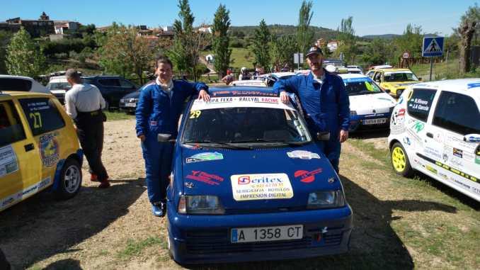 Mordillo y Hernández a refrendar el título de la FEXA-RallyAl