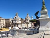 Piazza Venezia desde el monumento a Vittorio Emmanuele II