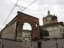 Iglesia de de San Lorenzo Maggiore y las Columnas de San Lorenzo