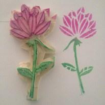 Flor - Diseño tomado del libro 'Making an Impression' de Geninne Zlatkis