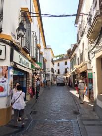 Calles del centro historico de Córdoba