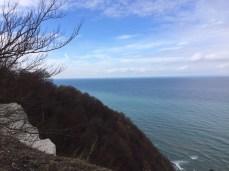 El mar desde los acantilados