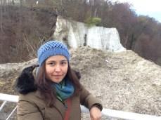 Los acantilados desde la cima del Königsstuhl