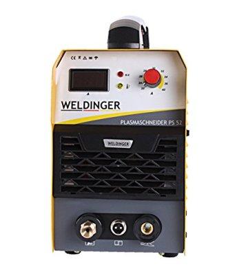 Aktionsset WELDINGER Plasmaschneider PS 52 + Verschleißteileset CUTSet 1 37-tlg. - 2