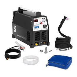 Stamos Power - S-CUTTER 70-3PH - Plasmaschneider (20-70 A, 400 V,20 mm Schneidleistung, Pilotzündung + Zubehör) schwarz - 1