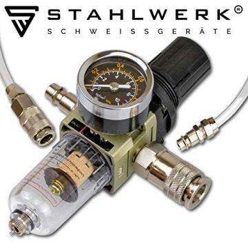 STAHLWERK CT550 ST - kompaktes WIG/MMA Schweißgerät mit Plasmaschneider bis 12mm, 200 Ampere WIG/MMA + 50 Ampere CUT, 7 Jahre Garantie, weiß - 8