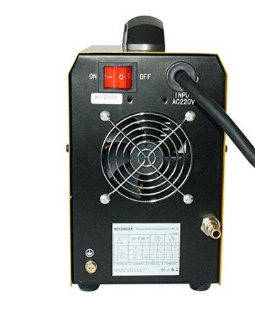 WELDINGER EPS180 Elektroden-Schweißinverter + Plasmaschneider Kombigerät 180A/45 A - 5