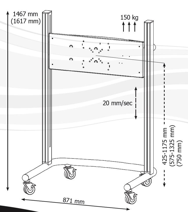 Plasma TV Trolley
