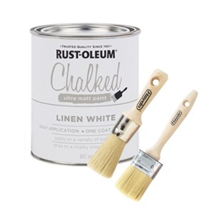 Haydn chalk paint starter package - linen white