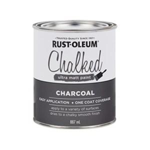 Rustoleum Chalked Paint - charcoal