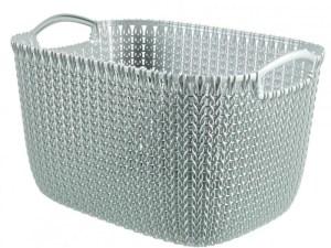 Curver knit mand L - 19 liter - misty bleu