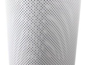 2x stuks wasmanden met deksel wit 60 liter - Kunststof wasmanden - Huishoudelijke producten