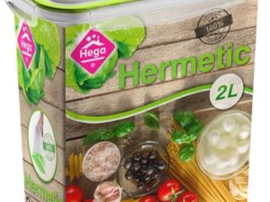 3x Voorraad/vershoudbakjes 2 liter transparant/groen plastic/kunststof - Kiev - Luchtdicht/hermetisch afgesloten vershouddoos bakje - Mealprep - Maaltijden bewaren