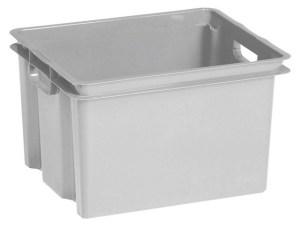 Allibert Crownest opbergbox grijs - 30 L