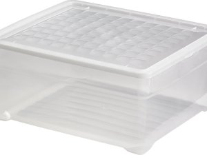 Curver Textielbox Opbergbox - 18,5L - Kunststof - Transparant