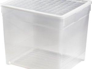 Curver Textielbox Opbergbox - 33l - Kunststof - Transparant