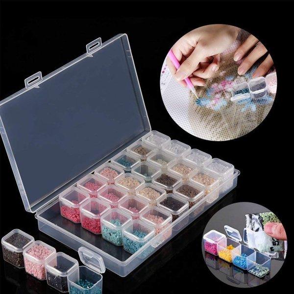 Diamond Painting Opbergbox Met 28 Bakjes