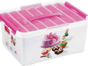 Sunware Q-Line Opbergbox - 15L - Met Tray - Baking Decor