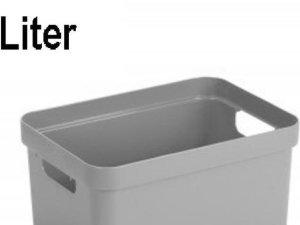 Sunware Sigma Home Opbergbox - 5 liter - lichtgrijs