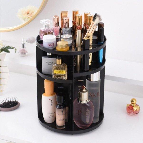 TENTA® Make up organizer - opbergbox - make up - organizer - make up set zwart