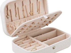 Luxe fluwelen sieradendoos / premium jewelry box / juwelendoos / opbergdoos / opbergbox