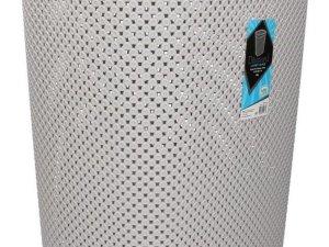 Wasmand met deksel grijs 60 liter - Kunststof wasmanden - Huishoudelijke producten