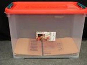 Allibert Handy 65 liter stapelbare opbergbox 6 stuks