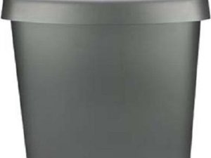 Curver Swing Afvalbak Zilver-anthraciet 15L ( set van 6)