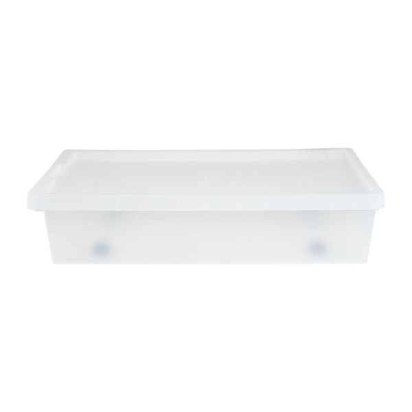 Opbergbox bed - Transparant - 70x39,5x15,4 cm