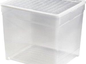Curver Textielbox Opbergbox 33L - Set van 5 - L 39,5 x B 34,2 x H34,3 cm