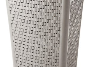 Rotho Country Wasmand met deksel - 50 l - Cappuccino