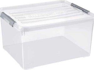 Curver Handy Plus Opbergbox - 35 L - 3 stuks - Transparant