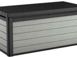 Keter Denali Opbergbox - 380L - 122,9x62,1x70,6 - Antraciet