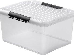 Curver Optima Multibox Opbergbox - 33 liter - Kunststof - Transparant