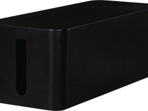 Hama Opbergbox Stekkerdoos Maxi Zwart