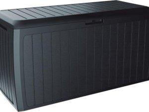Opbergbox Kussens Board 117x47x60cm 280L ANTRACIET Prosperplast
