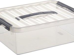 Sunware Q-line opbergbox 10ltr transp.