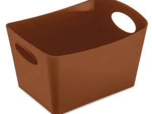 Koziol Opbergbox Boxxx S Organic 1 Liter Roestbruin