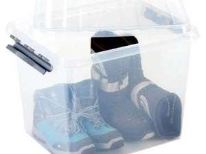 Stapelbare Q-line opbergbox 52 liter - Leen Bakker