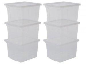 Iris opbergbox storage box - 6 stuks - 10 liter