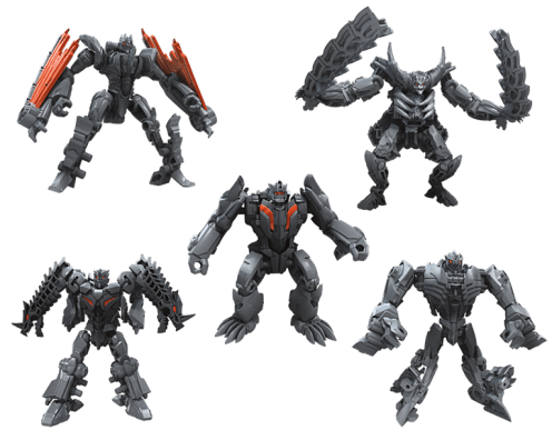 Mission to Cybertron Infernocus 5 Bot Combiner - five bos